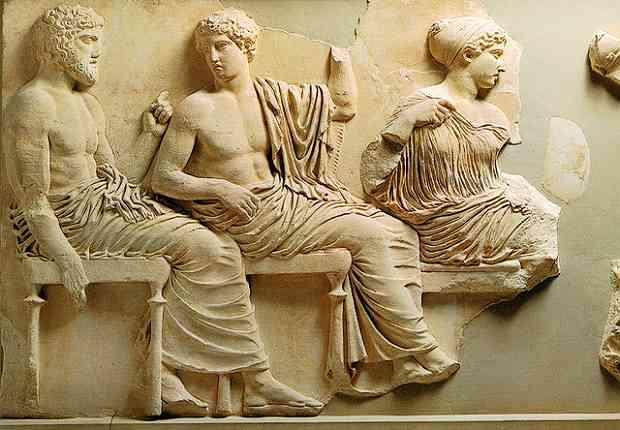 Poseidon, Apollo and Artemis