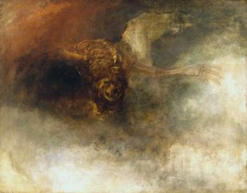 Death on a Pale Horse, oil painting by J. M. W. Turner