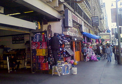 Broadway in downtown LA