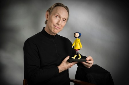 Henry Selick, with is lastest creation, Corraline.