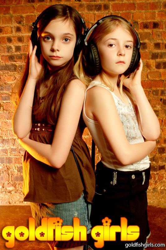 The girls in their younger days. Photo: goldfishgirls.com