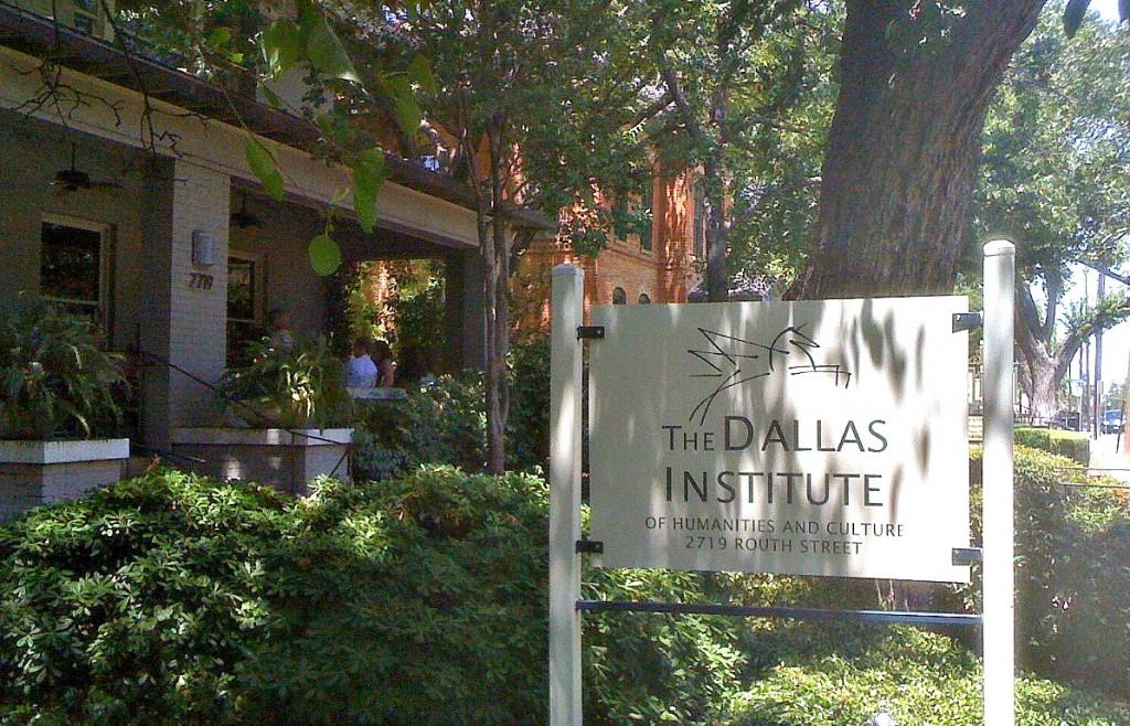 dallas institute sign