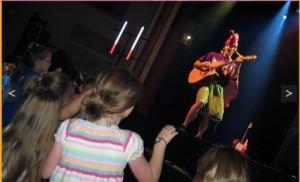Kids can groove along with David Chicken at Liberty Fest. Photo: davidchicken.com
