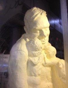 See Big Tex as you've never seen him--made of butter! (photo: Kim Whitaker)