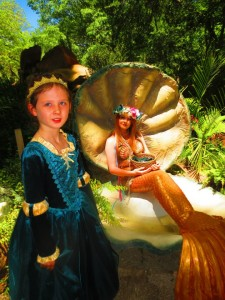 Come meet a mermaid at the 34th Annual Scarborough Renaissance Festival. (photo: Therese Powell)