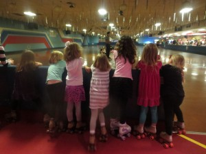 Stay cool at the roller rink! (Photo: Therese Powell)
