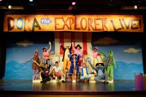 Check out Dora's new adventure at the Rose Marine Theater (Photo: Michael C. Foster/ Artes de la Rosa)