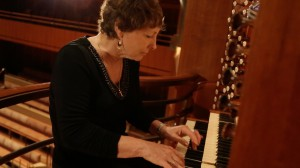 Mary Preston has been the Dallas Symphony's resident organist for the past 20 years. Photo: Dane Walters