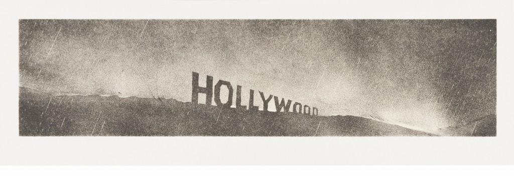 Hollywood, Ed Ruscha