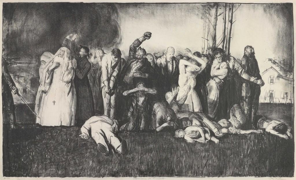 Village Massacre, George Bellows