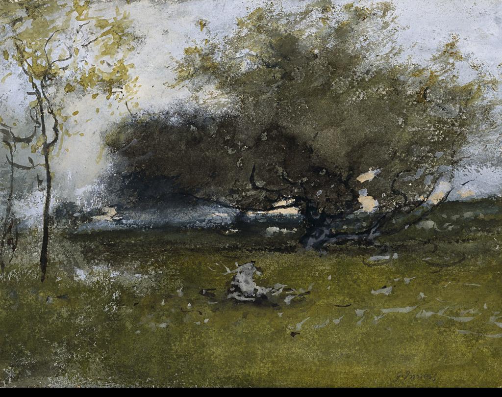 Old Apple Tree, George Inness
