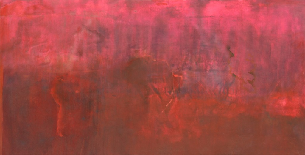 Frank Bowling Marcia H Travels 1970 acrylic on canvas 305 x 570 cm courtesy of Frank Bowling and Hales Gal (2)