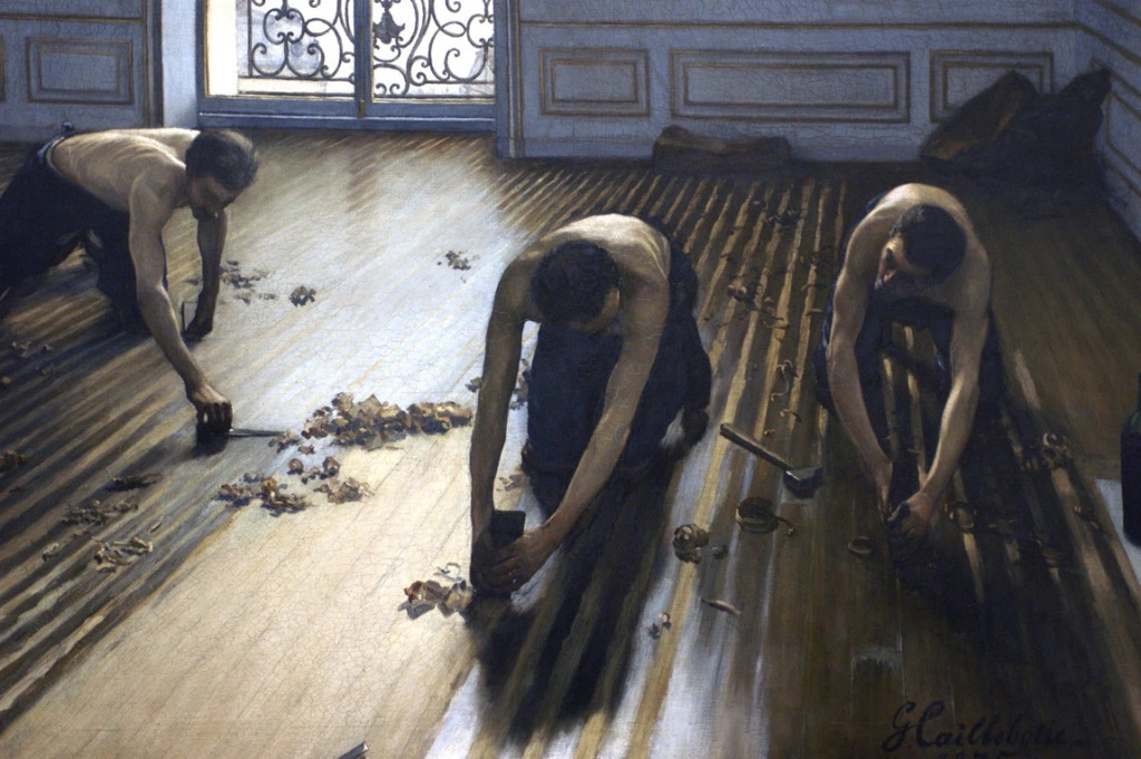 Gustave Caillebotte, The Floor Scrapers (Parquet Planers) (1875)