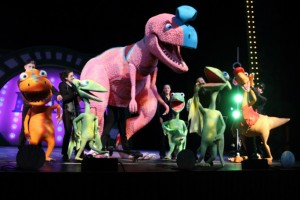 Dinosaurs sing, dance and ride the rails in 'Dinosaur Train Live!' Photo: dinosaurtrainlive.com