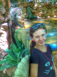 Meet a mermaid at the Scarborough Renaissance Festival. Photo: Therese Powell