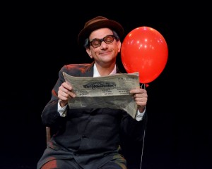 An unlikely friendship is explored in 'Balloonacy' at the Dallas Children's Theater. photo: DCT