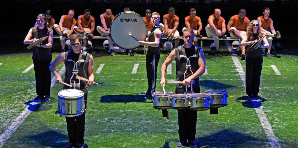 DTC's Colossal - smallDrum Line with Cast - by Karen Almond