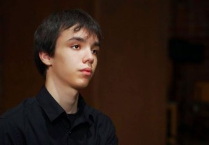 Adam Balogh, from Hungary, is one of the participants in the Cliburn Junior Competition. Photo: The Cliburn