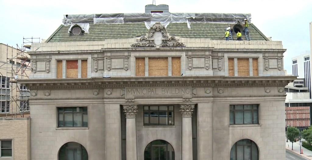 old city hall restoration