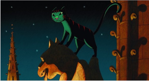 'A Cat In Paris' is one of the films you can see at the Modern Art Museum of Fort Worth's Modern Kids - Summer Flicks.
