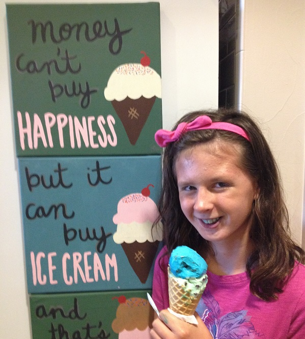 Enjoy an ice cream at Sweet Firefly before summer is over. Photo: Therese Powell