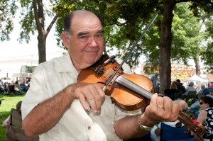 Jim Chancellor - one of the judges for the 508 Park Fiddle Contest presented by The Museum of Street Culture. Courtesy: Alan Govenar