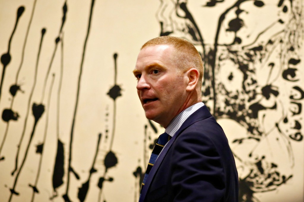 Gavin Delahunty (2)_Jackson Pollock Blind Spots_Courtesy of Dallas Museum of Art
