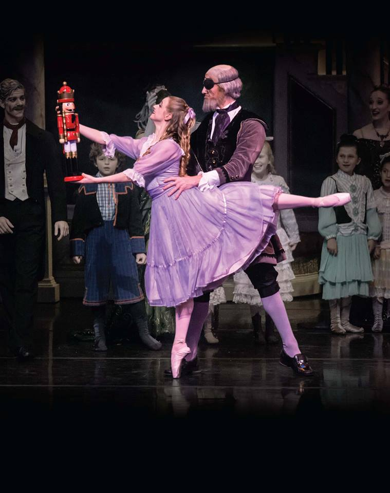 There's still time to catch TBT's Clara in the holiday staple at Bass Hall.