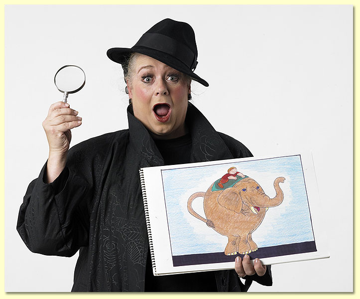 Help Imma Sleuth solve the mystery this Saturday at Bookmarks.