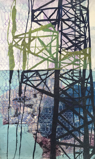 """""""Light on Tower"""" by Sarah Wiseman."""