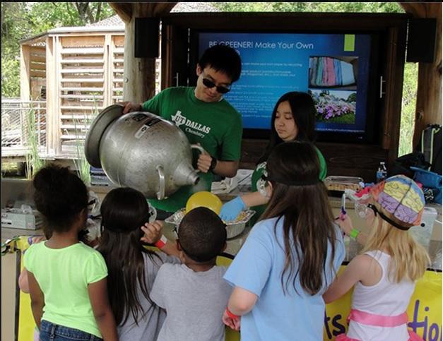 Learn some sciencey stuff at the children's garden. Photo: The Rory Meyers Children's Garden at the Dallas Arboretum.
