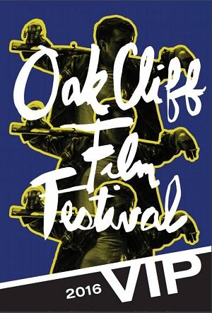 BD oak cliff film festival VIP badge