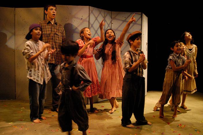 Everyone's a star at Teatro Dallas' summer theater camp. Photo: Teatro Dallas