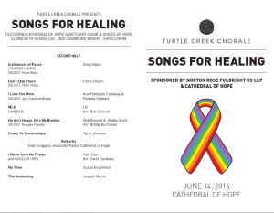 Songs for Healing