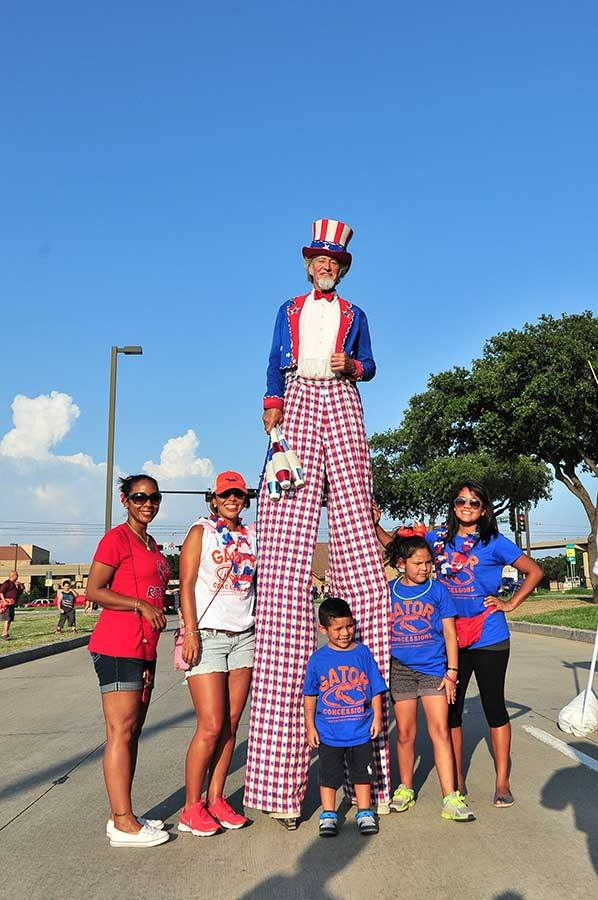 Be sure to snap a selfie with Uncle Sam at Irving's Independence Day Celebration. Photo: City of Irving