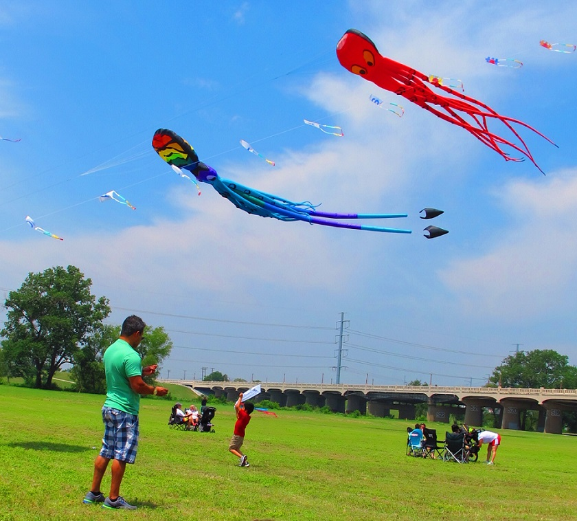 Catch the wind at the 2016 Trinity River Wind Festival. Photo: Therese Powell