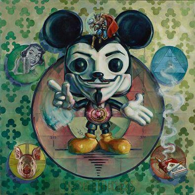 Artwork by Chubirka for THREE