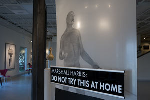 The entrance to Fort Works Art. Photo: Fort Works Art