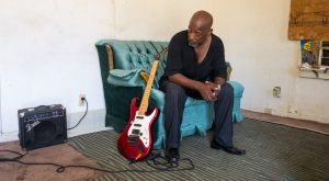At the Austin Street Center, Gerald Williams was able to start playing the electric guitar again.