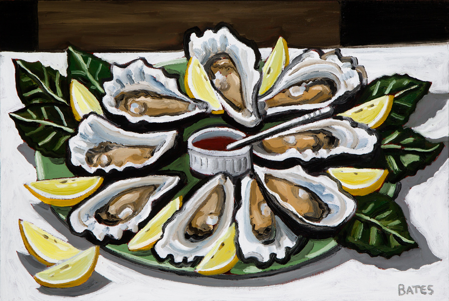 """""""Oysters"""" by David Bates"""