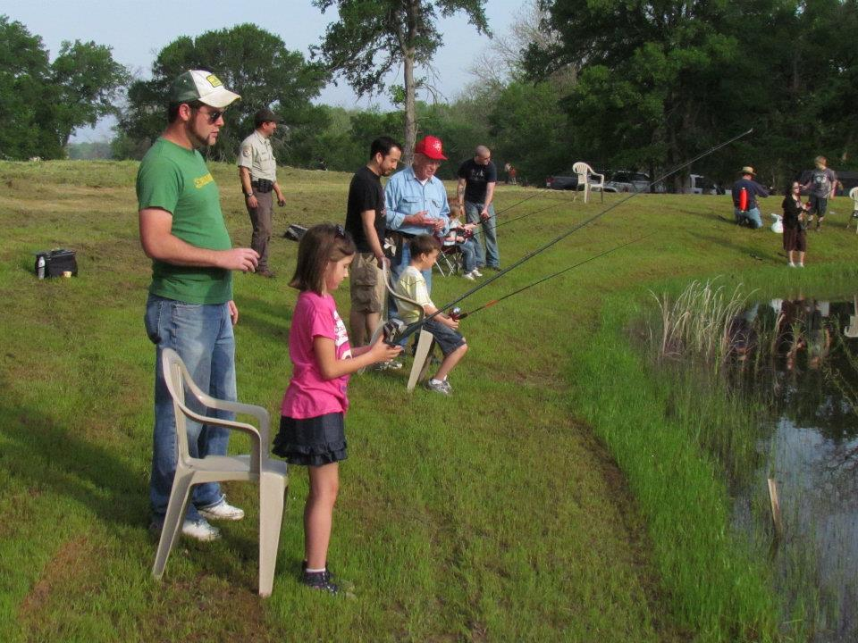 Reel in a big one at Let's Go Fishing. Photo: Hagerman National Wildlife Refuge.
