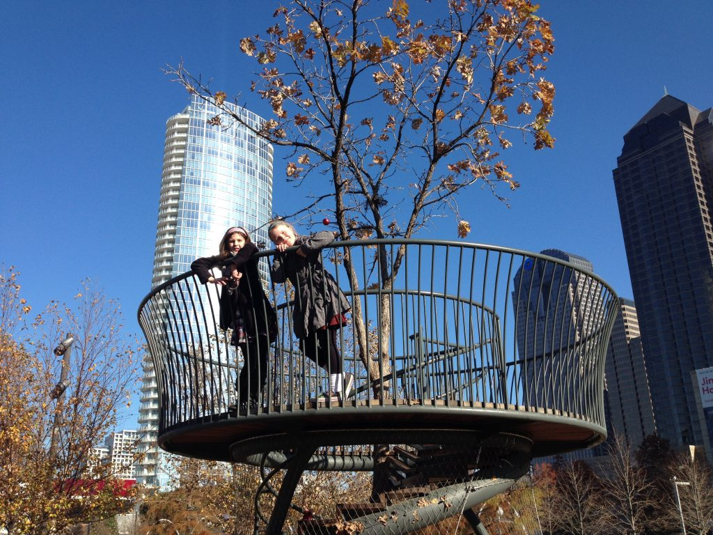 See the city from a different perspective at Klyde Warren Park. Photo: Therese Powell