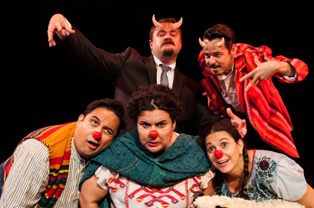 Cara Mia Theatre's 'Nuestra Pastorela is fun twist on the Nativity story. Photo: Linda Blase