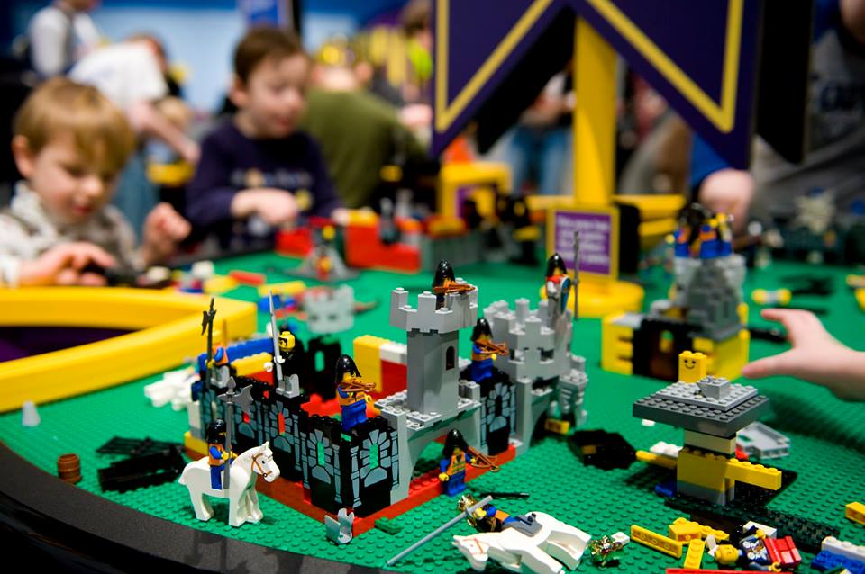 What kind of kingdom will you create at the Castle Builder Exhibit. Photo: Sci-Tech Discovery Center