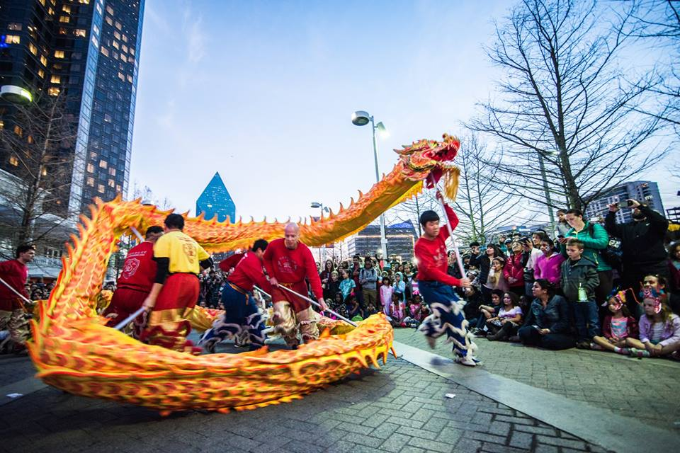 Come say hello to a dragon or two at the Chinese New Year Celebration. Photo: Crow Collection of Asian Art