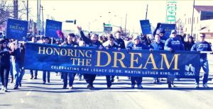 Don't miss the parade honoring Dr. Martin Luther King, Jr. Photo: VisitDallas