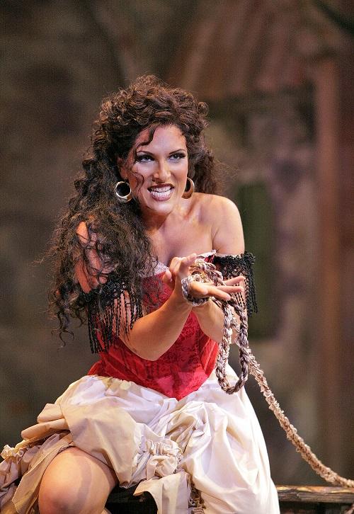 Audrey Babcock as Carmen Utah Opera Festival Photo by Cory Weaver