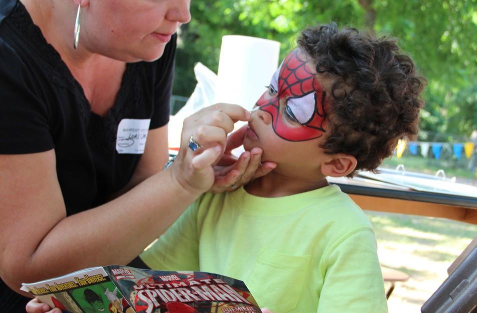 Even Spider Man wouldn't miss MayFest. Photo: MayFest